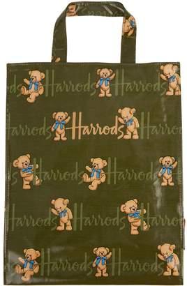 Harrods Medium Rufus Bear Shopper Bag