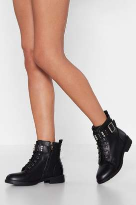 Nasty Gal Style It Out Embellished Boot