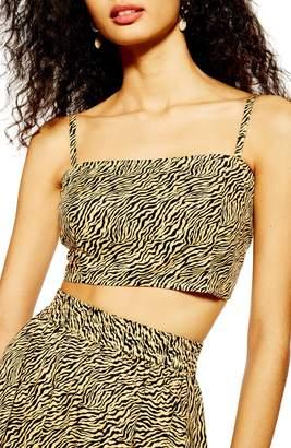 Topshop Tiger Print Bralette