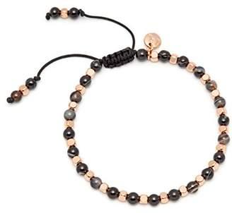 Lola Rose Portobello Black Blended Agate Bracelet