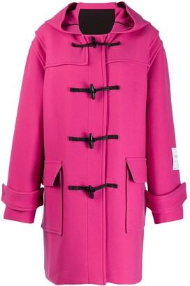 MSGM hooded duffle coat
