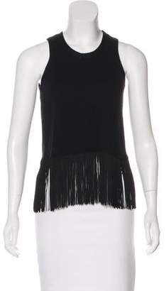 Timo Weiland Fringe Sleeveless Top