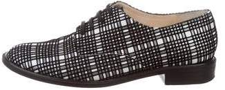 Robert Clergerie Clergerie Paris Patterned Lace-Up Oxfords
