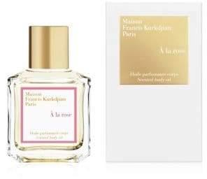 Francis Kurkdjian A la rose Scented body oil/2.4 oz.
