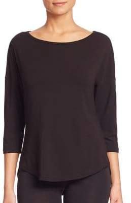 Cosabella Talco Three-Quarter Sleeve Pajama Top