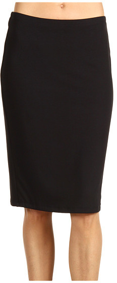 Red Dot Jackie Jersey Double Pencil Skirt