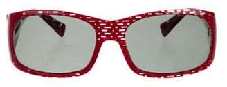 Alain Mikli Narrow Polarized Sunglasses