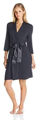 Midnight by Carole Hochman by Carole Hochman Women's Short Modal Robe