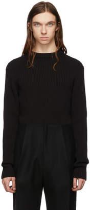 Bottega Veneta Black Cotton Sweater