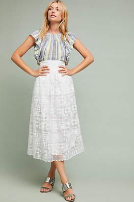 Orla Kiely Alessandra Lace Skirt