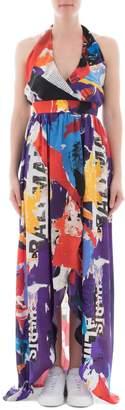 Balmain Multicolor Silk Dress