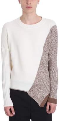 Damir Doma White-beige Wool Sweater