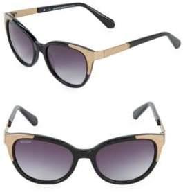 Balmain Metallic 53MM Oval Sunglasses