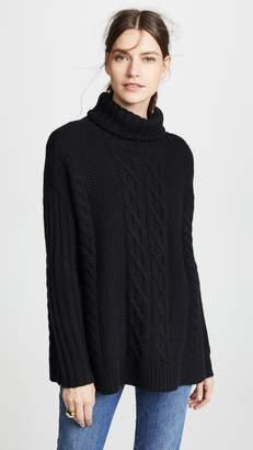 TSE Cashmere Poncho Sweater