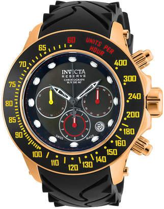 Invicta Reserve Subaquoa Speedway Mens Black Strap Watch-22142