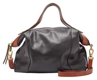Fossil Sadie Satchel Handbag Black/Brown