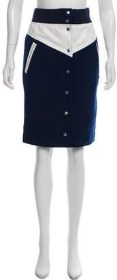 Nike Wool Knee-Length Skirt