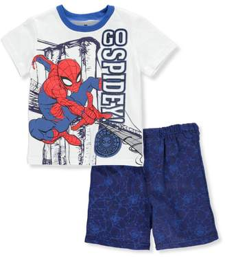 Spiderman Little Boys' Toddler 2-Piece Outfit
