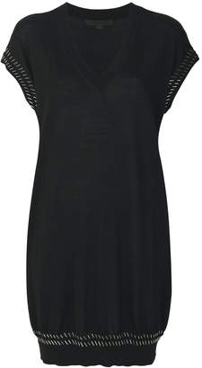 Alexander Wang beaded classic sweater dress