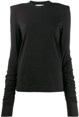 Circus Hotel ruched sleeve T-shirt