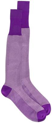 Fashion Clinic Timeless dogtooth socks