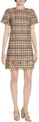 Kate Spade two-tone tweed dress
