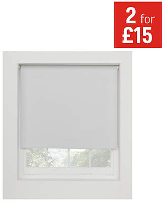 Argos Home Blackout Thermal Roller Blind - 2ft- Super White
