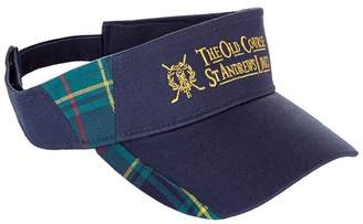 Harrods St Andrews Tartan Golf Visor