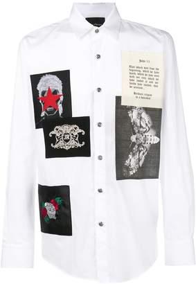 John Richmond Skull print shirt