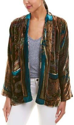 Johnny Was Silk-Blend Kimono