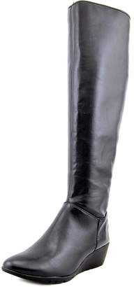 Bandolino Aliba Wide Calf Women US 6.5 W Black Knee High Boot