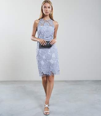 Reiss Meghan Floral Lace Dress