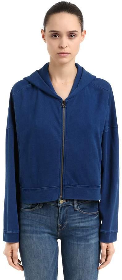 Oversized Sweatshirt Aus Baumwolle Mit Kapuze