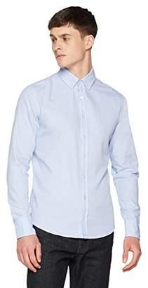 BOSS Casual Men's Mabsoot Shirt, (Open Blue 460), XX