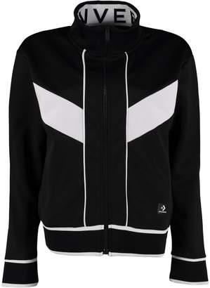 Converse (コンバース) - Converse Cotton-blend Zip Sweatshirt