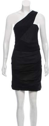 Rag & Bone One-Shoulder Silk-Blend Dress