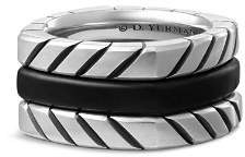 David Yurman Chevron Stack Ring