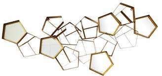 Moe's Home Collection Pentagon Mirror Wall Decor