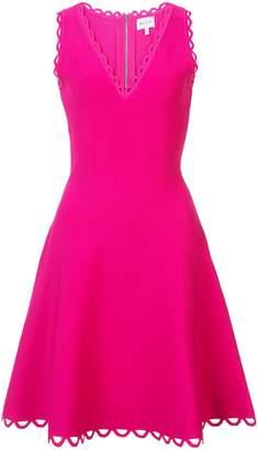 Milly (ミリー) - Milly scalloped hem skater dress