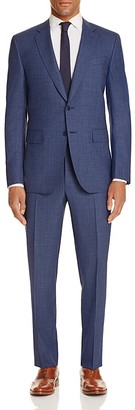 Canali Micro Tooth Regular Fit Travel Suit $1,995 thestylecure.com