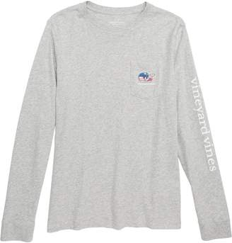 Vineyard Vines Pro Hockey Whale Pocket T-Shirt
