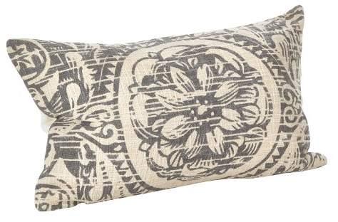 Saro Lifestyle Montpellier Floral Design Throw Pillow (14