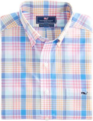 Vineyard Vines Charthouse Plaid Slim Tucker Shirt