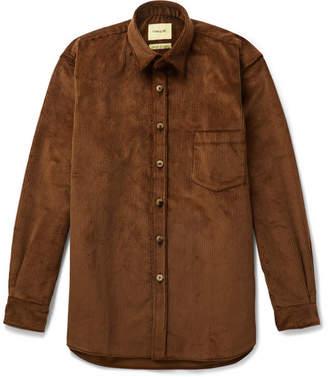 De Bonne Facture Cotton-Corduroy Overshirt