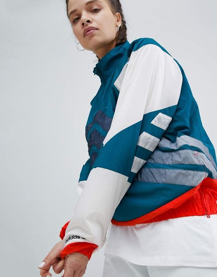 – Nova – Jacke mit Farbblockdesign und halblangem Reißverschluss