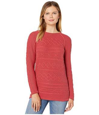 Tribal Long Sleeve Cable Sweater