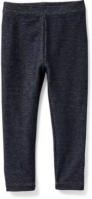 Jersey Leggings for Toddler Girls $9.94 thestylecure.com