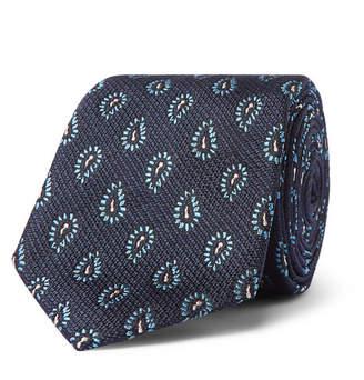 Ermenegildo Zegna 7cm Paisley Silk-Jacquard Tie