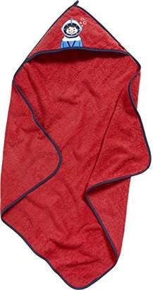 Playshoes Boy's Terry Hooded Towel Dinosaur Bathrobe