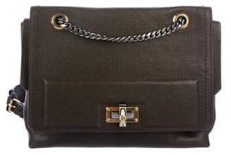 Lanvin Leather Double Flap Bag